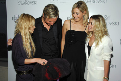 af5cba0d7 Mary-Kate Olsen, Markus Langes-Swarovski, Nadja Swarovski, Ashley Olsen