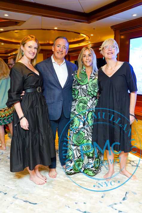 Sue Hostetler Beau Wrigley Host Cocktails To Honor The Anderson Ranch Sarah Arison And Helen Molesworth Patrick Mcmullan